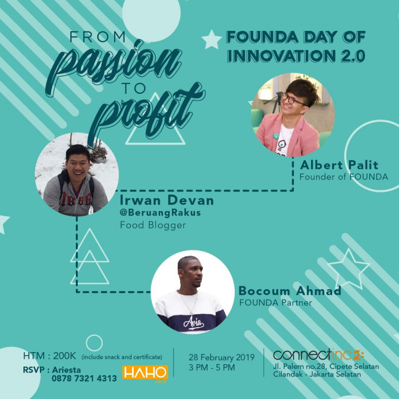 FOUNDA Day of Innovation 2.0 : From Passion to Profit