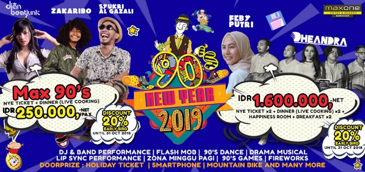 New Year 2019 - Maxone 90's