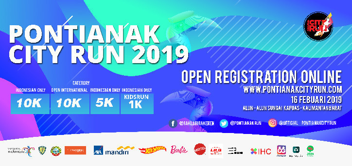 Pontianak City Run 2019