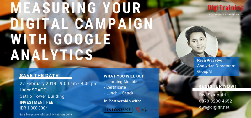 Measuring Your Digital Campaign with Google Analytics
